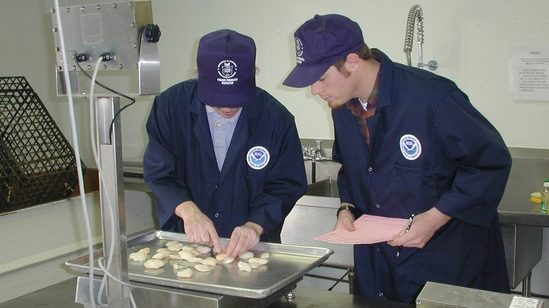 NOAA Seafood inspection